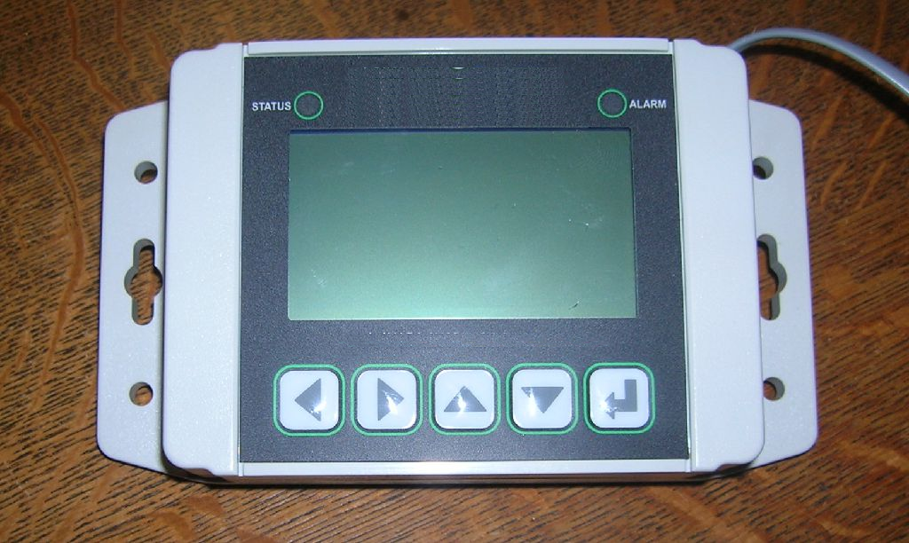 HTTPserial Terminal NEMA rated to provide a local user interface.